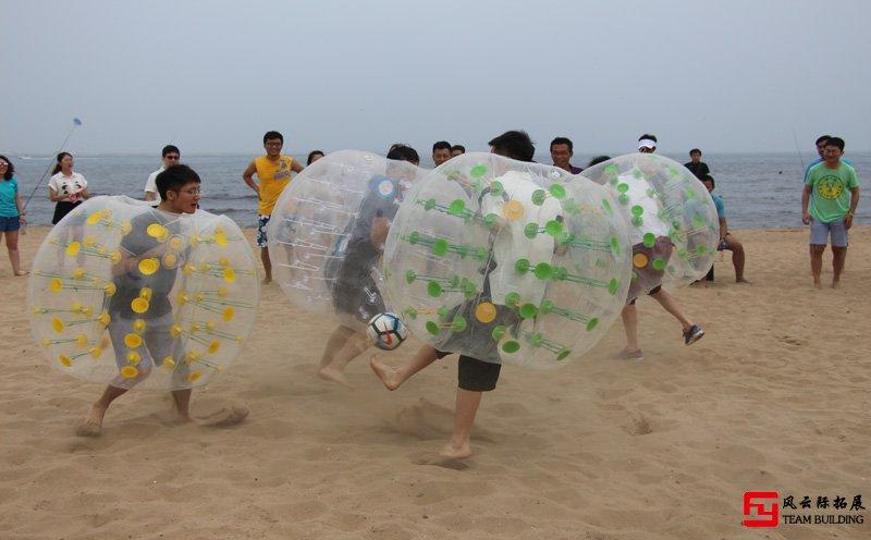 沙滩碰碰球+足球团建