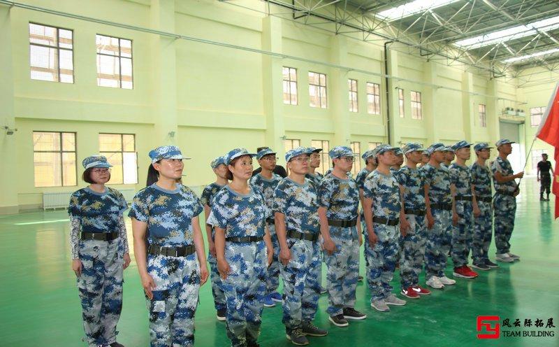 北京军训活动图片