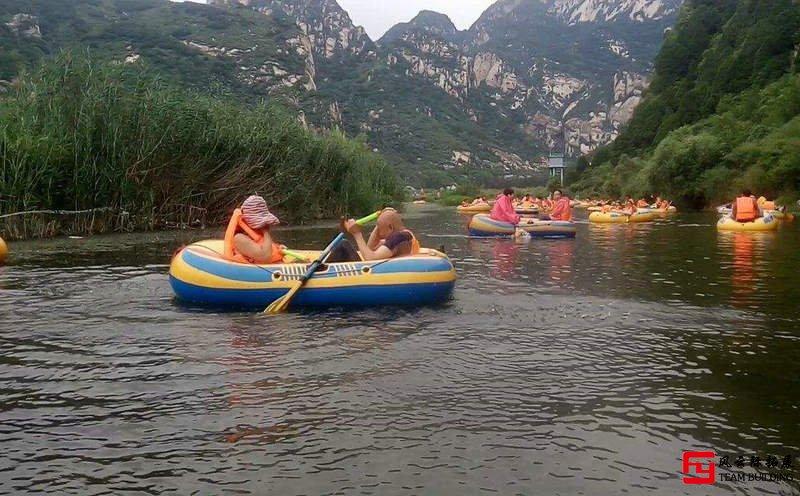 白河峡谷漂流2日团建拓展方案