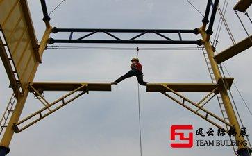 拓展训练项目信任背摔/高空断桥/高空抓杆心得体会