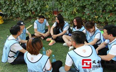 幼儿园组织70人进行户外拓展训练活动