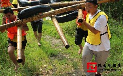 聚沙成塔|公司团队的拓展训练活动