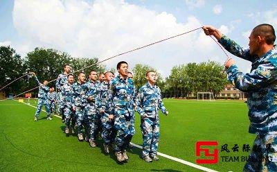 团队游戏《跳绳比赛》