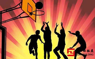关于公司团建篮球赛拓展训练新闻稿