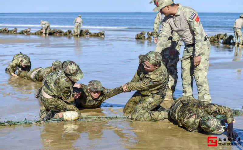 军训拓展训练项目「死亡爬行」心得体会