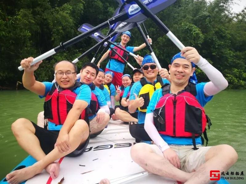 水上拓展项目「皮划艇」心得体会