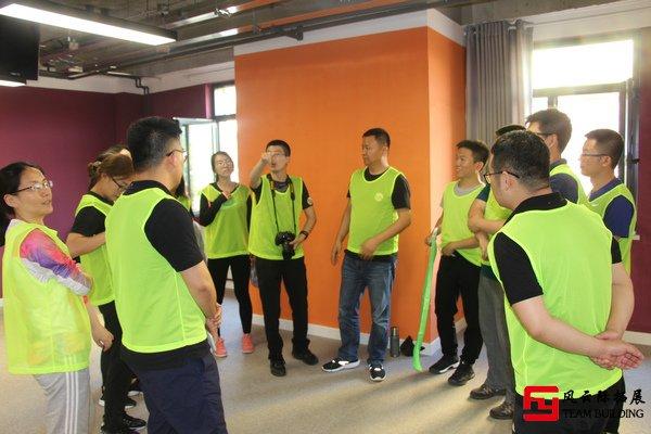 新员工拓展训练展现公司新风采