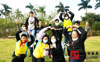 志愿者骨干培训拓展活动圆满结束